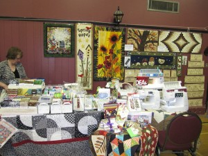 Annual Quilt Show & Strawberry Tea - Vendor Table